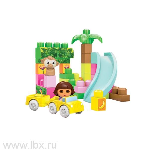 купить Набор Dora `Дора спешит на помощь`, Mega Bloks (Мега Блокс) в магазине LBX.RU