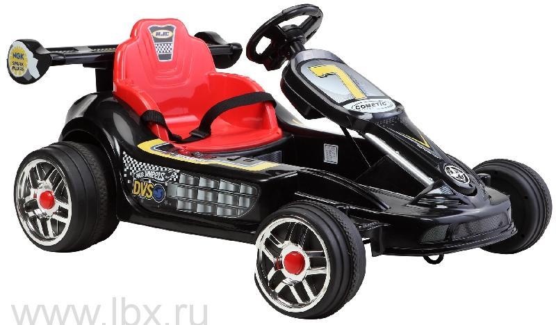 Детский электромобиль NeoTrike Cart Extra Power (Неотрайк Карт) черный