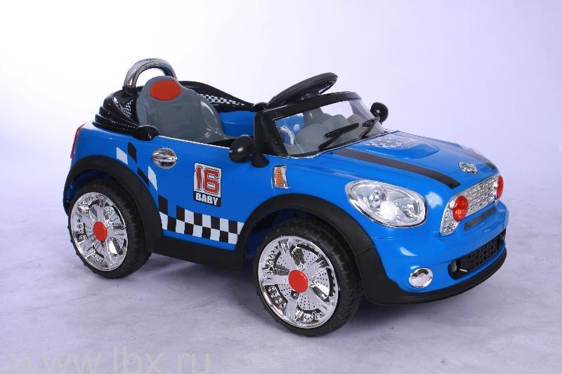 Детский электромобиль NeoTrike TAXI (Неотрайк Такси) синий