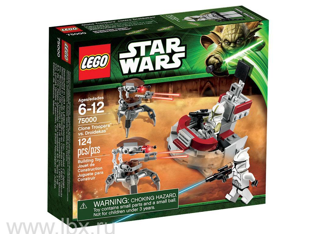 Штурмовики-клоны против Дроидеков Lego Star Wars (Лего Звездные войны)