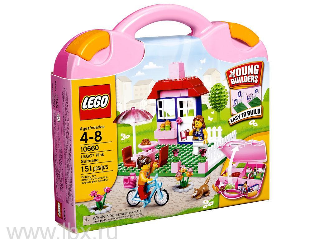 Чемоданчик Lego для девочек Lego Creator (Лего Криэйтор)