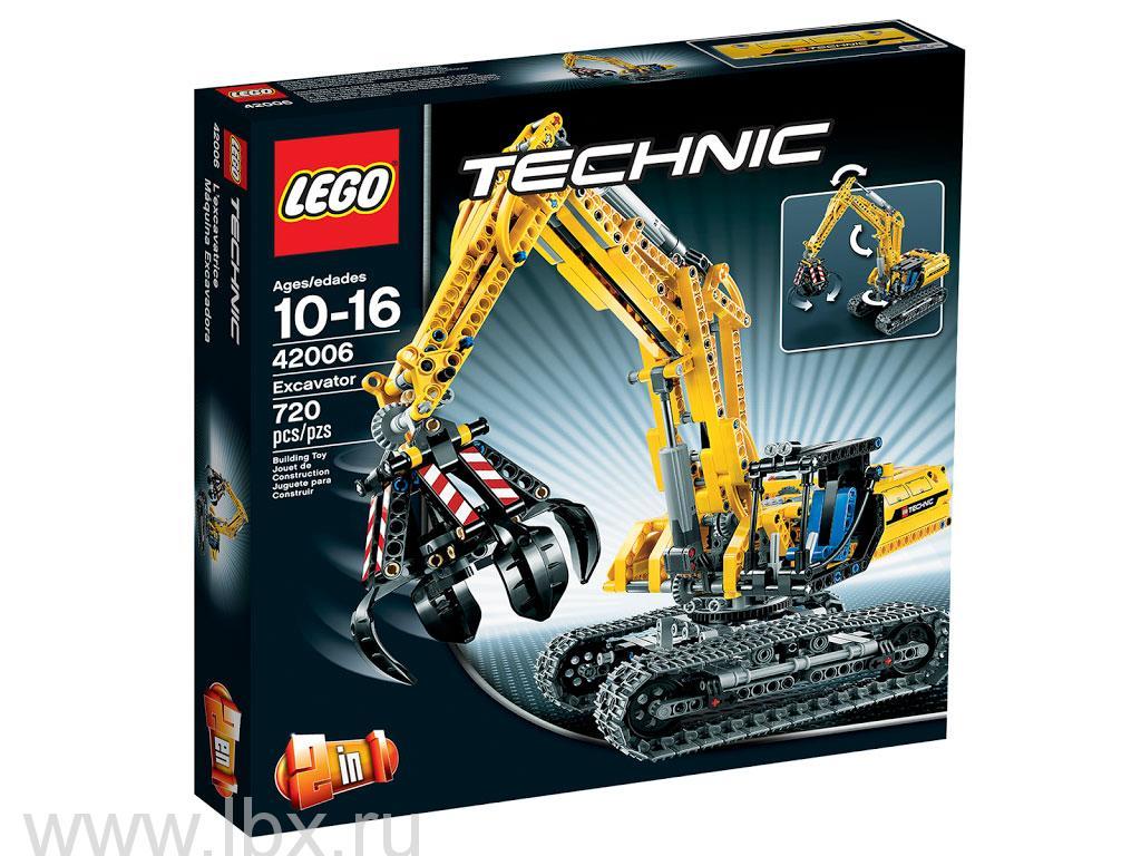 Экскаватор Lego Technic (Лего Техник)