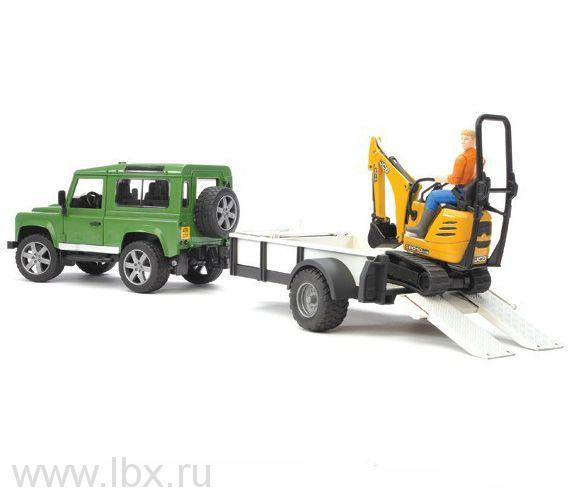 Внедорожник Land Rover Defender, Bruder (Брудер)