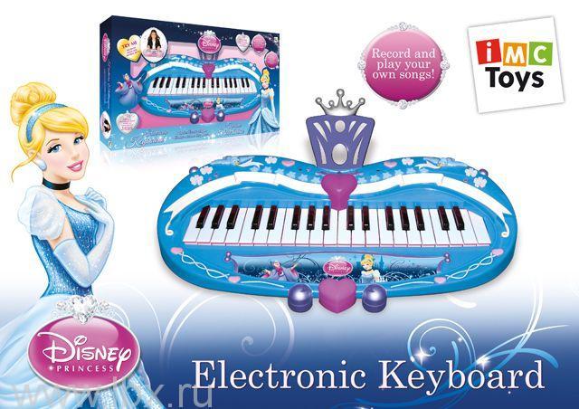 Пианино `Cinderella` Disney, IMC Toys (АйЕмСи Тойс)