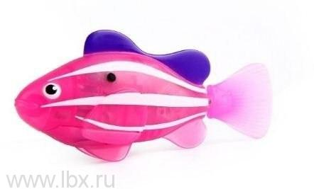 РобоРыбка `Клоун` (розовая), Zuru Toys Inc. Robo Fish (Зуру Тойс Инк. Робо Фиш)