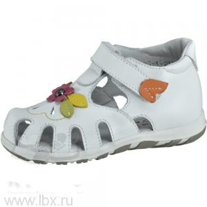 Летние туфли для девочки, малодетские, Котофей- увеличить фото
