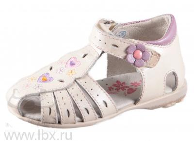 Летние туфли для девочки, малодетские, Котофей