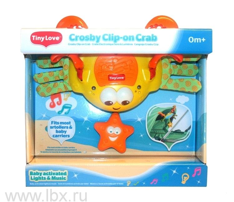 Электронная подвесная игрушка `Краб Себастиан`, Tiny Love (Тини Лав)