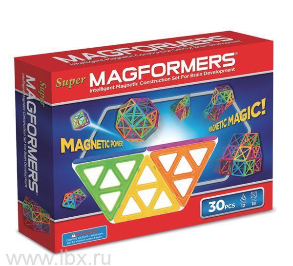 Магнитный конструктор `Magformers Super`, Magformers (Магформерс)