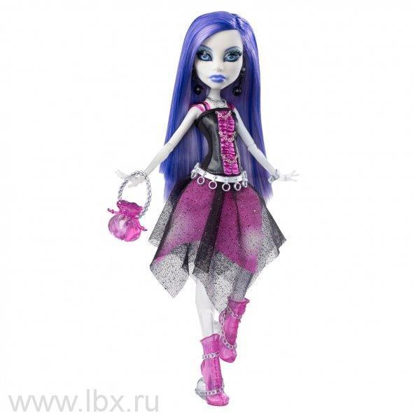 Кукла Спектра Вондергейст, серия «Живые куклы» Monster High (Школа Монстров)