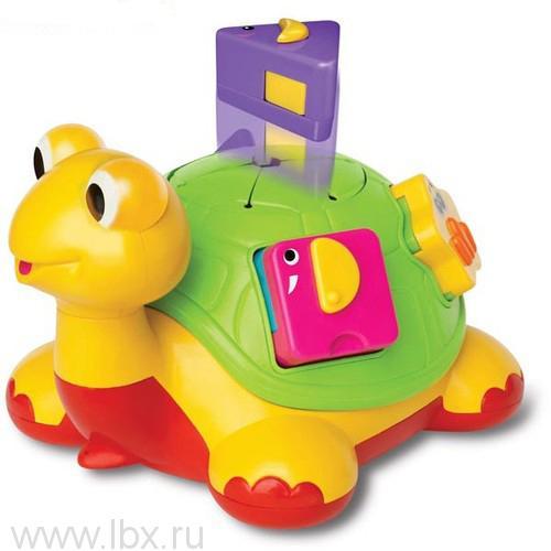 Игровая каталка `Черепаха-знайка`, Kiddieland (Киддилэнд)