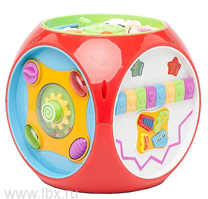 Развивающая игрушка `Мультикуб`, Kiddieland (Киддилэнд)