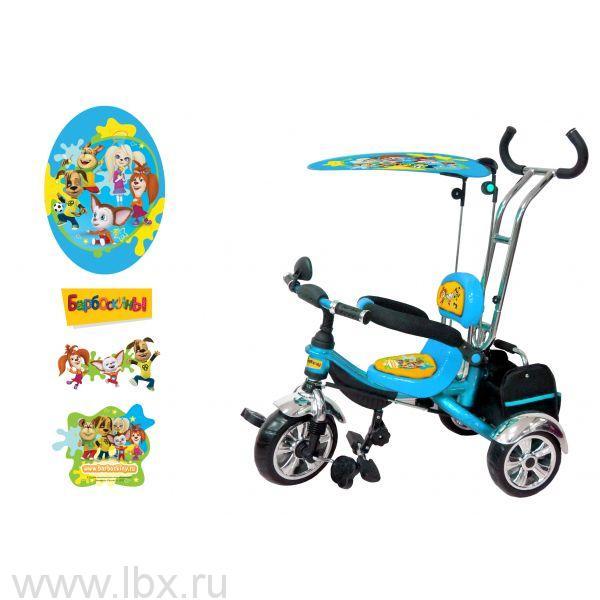 Детский трехколесный велосипед `Барбоскины`