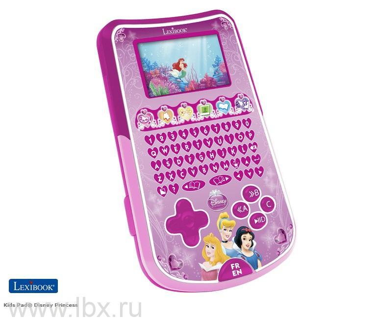 Детский компьютер - планшетник `Принцесса`,Lexibook Junior (Лексибук Юниор)