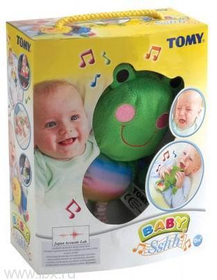 Игрушка мягкая `Веселая гусеничка/лягушка`, Tomy (Томи)