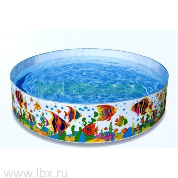 Бассайн карскасный круглый `Аквариум`, Intex (Интекс)