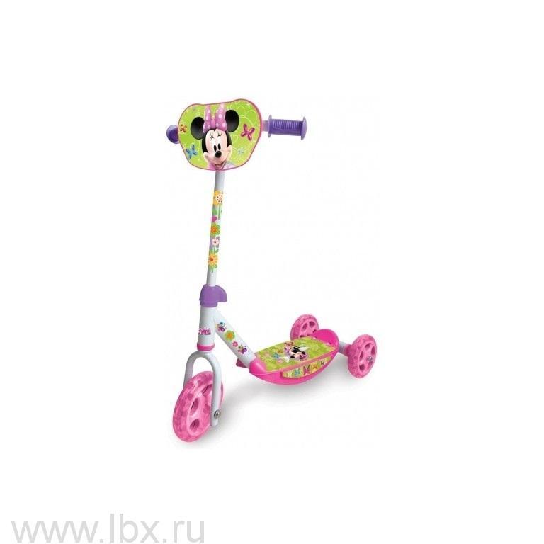 Самокат 3-х колесный `Minnie Mouse`, Smoby (Смоби)