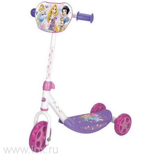 Самокат 3-х колесный `Disney Princess`, Smoby (Смоби)