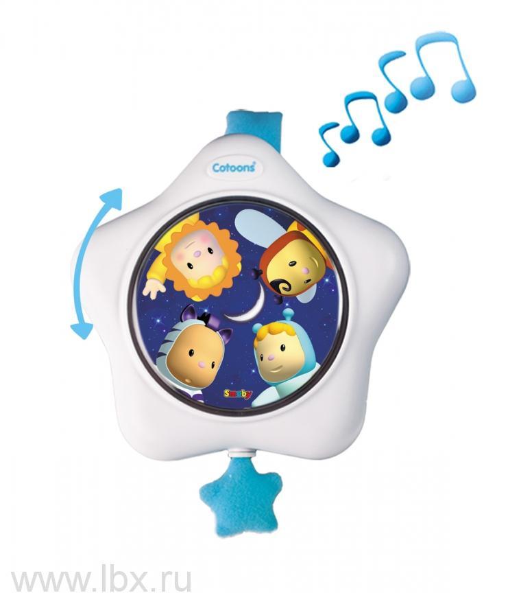 Музыкальная подвеска на кроватку Smoby (Смоби)