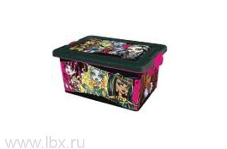 Коробка для хранения, 7 л, Monster High (Монстер хай)