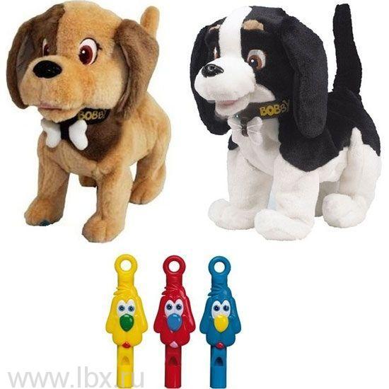 Собака Bobby интерактивная, IMC Toys (АйЭмСи Тойс)