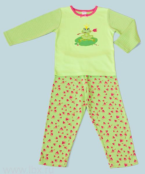 Пижама для девочек из коллекции Царевна-Лягушка, Модамини