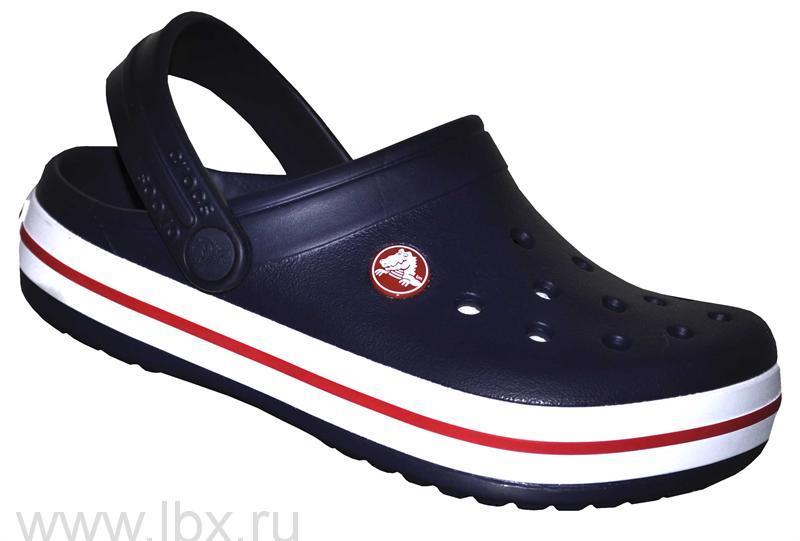 Сабо (Crocband Clog Navy) Крокбэнд Нэйви, Crocs (Крокс)