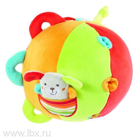 Развивающий мяч с колокольчиками `Веселые каникулы`, BabyFehn (БэйбиФэн)