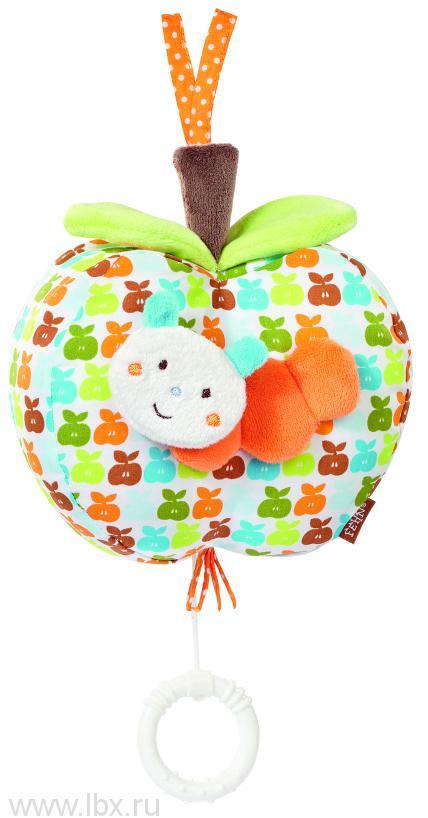 Музыкальная подвеска Яблочко (оранжевое)`Счастье`, BabyFehn (БэйбиФэн)