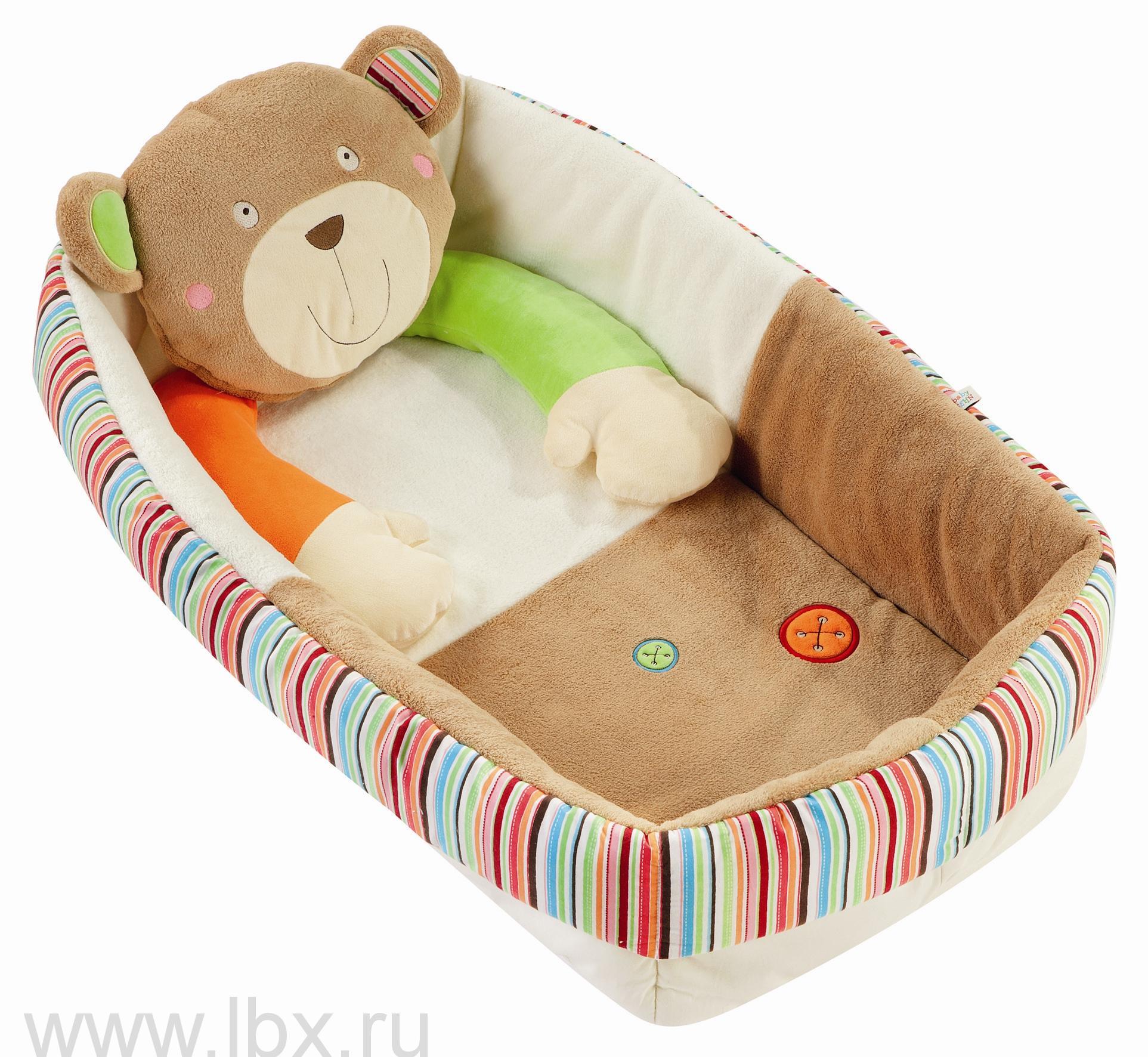Развивающий коврик с бортиками `Медвежонок Оскар`, BabyFehn (БэйбиФэн)