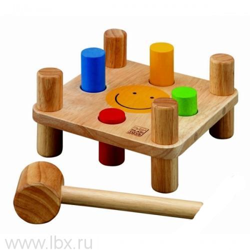 Забивалка Plan Toys (Плен Тойс)
