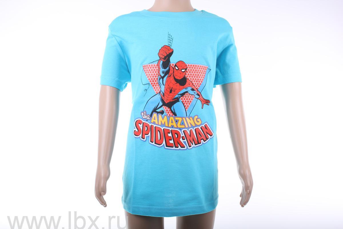 Футболка с коротким рукавом для мальчиков Spider, Angry Birds- увеличить фото