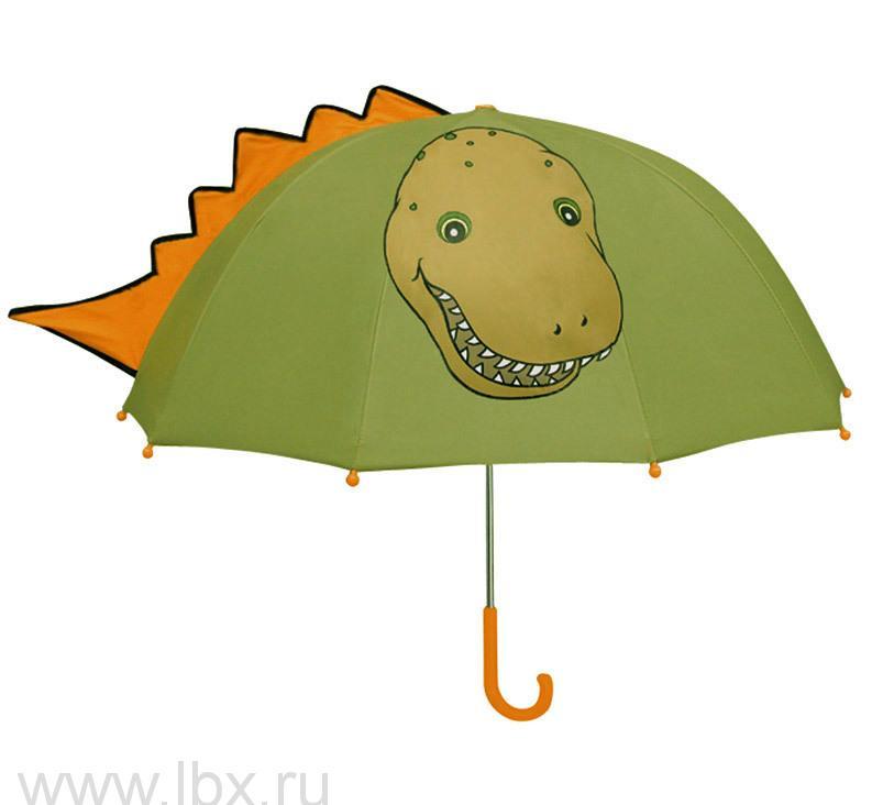 Зонт-трость детский Kidorable (Кидорабл) Динозавр