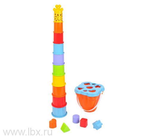 Активный центр `Пирамида-жираф` PlayGo (Плейго)