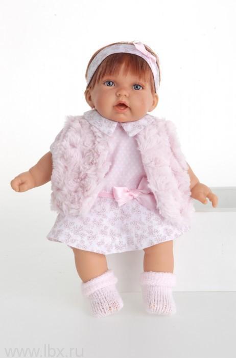 Кукла Анна в розовом жилете, Antonio Juans Munecas (Антонио Хуан Мунекас)