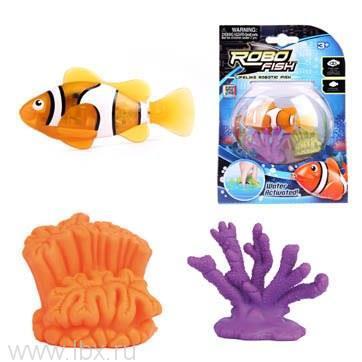 Набор РобоРыбка с кораллами, Zuru Toys Inc. Robo Fish (Зуру Тойс Инк. Робо Фиш)