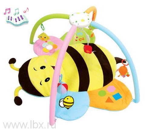 Детский музыкальный коврик `Пчёлка`, Felice (Феличе)