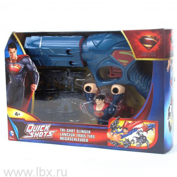 Superman: Man of Steel, устройство для запуска, Mattel (Маттел)