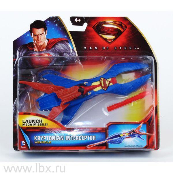 Superman: Man of Steel Toy, транспортное средство с фигуркой, Mattel (Маттел)