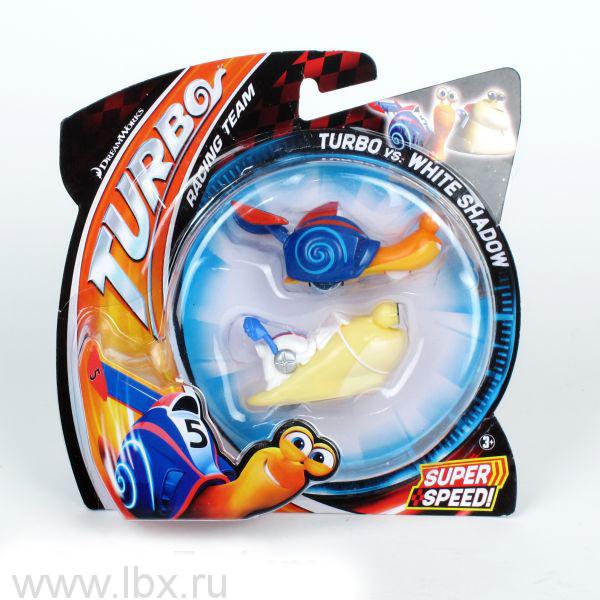 Набор из 2-х базовых улиток Turbo Dreamworks, Mattel (Маттел)