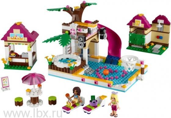 Городской бассейн Lego Friends (Лего Подружки)