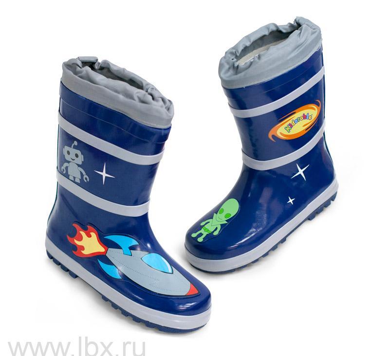 Сапоги резиновые детские Kidorable (Кидорабл) Космонавт