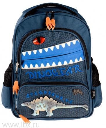 Рюкзак 3D Дино Стегозавр Dinosoles (Диносолес)