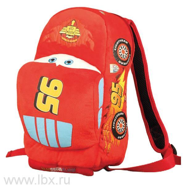 Рюкзак мягкий Disney `Тачки. Молния маккуин` от Мульти-Пульти