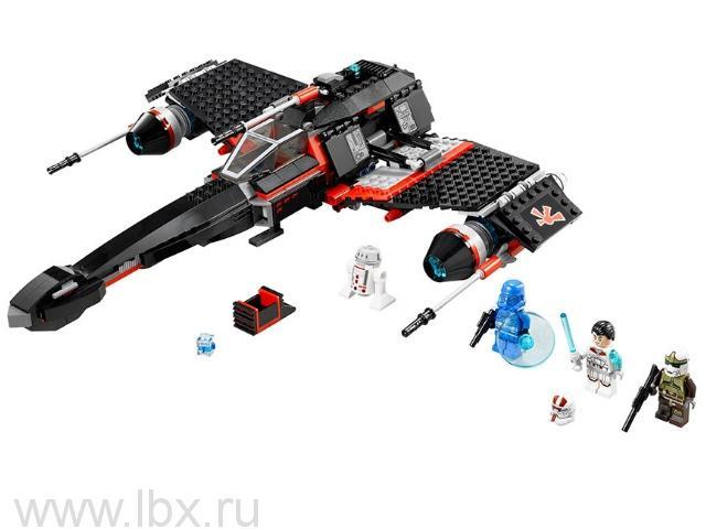 Секретный корабль воина Jek-15 Lego Star Wars (Лего Звездные Войны)