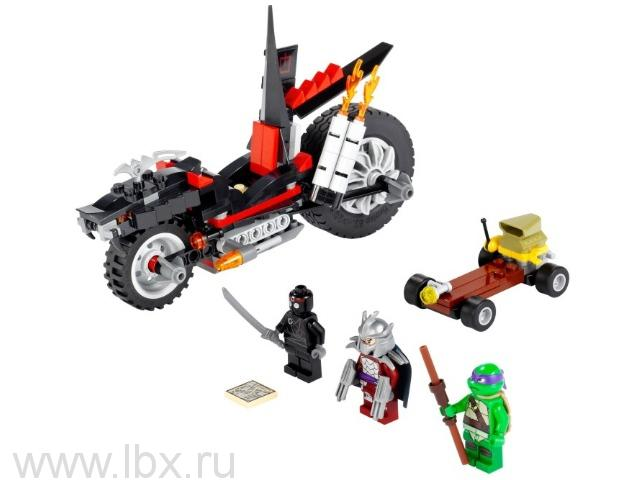 Мотоцикл-дракон Шреддера Lego Ninjago (Лего Ниндзяго)