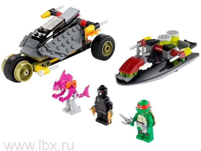 Погоня на панцирном байке Lego Ninjago (Лего Ниндзяго)