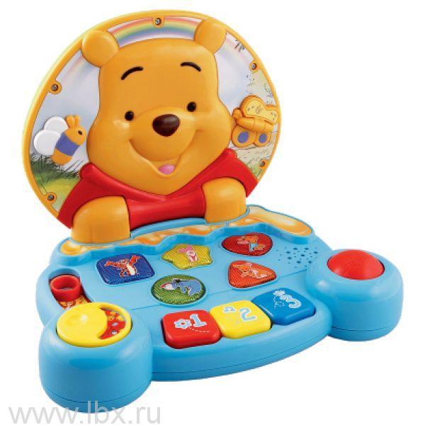 Обучающая игрушка `Компьютер Винни для самых маленьких`, Vtech (ВТех)