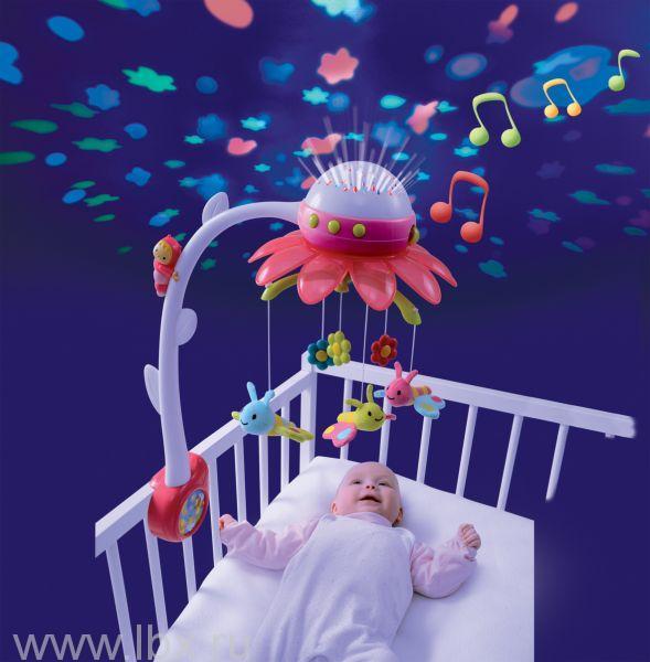 Мобиль музыкальный на кроватку Цветок Smoby (Смоби)