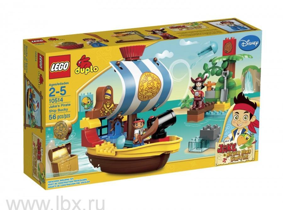 Пиратский корабль Джейка, Lego Duplo (Лего Дупло)
